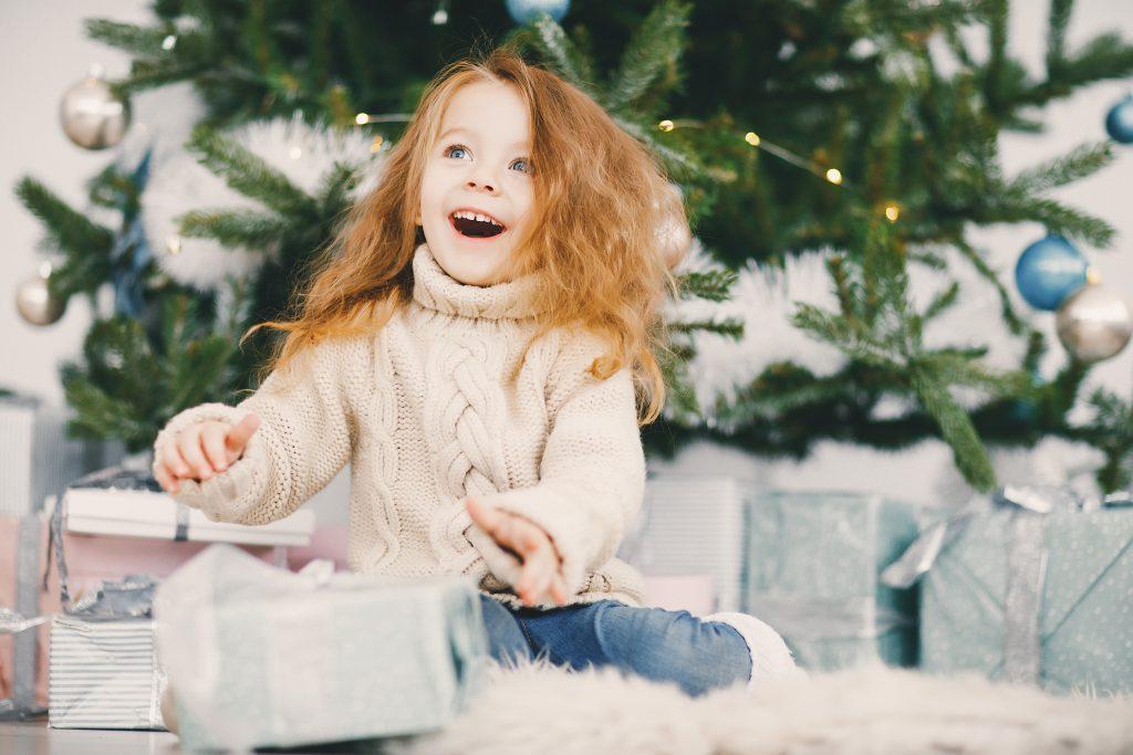 декември отваряне на подаръци